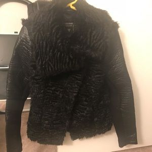 Womens Guess faux jacket